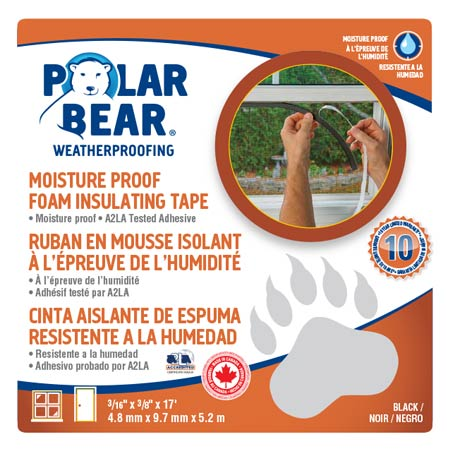 Moisture Proof Foam Insulating Tape